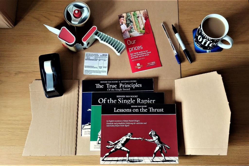 postage - Late Rapier Series